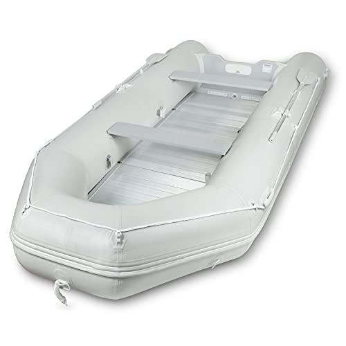 EBERTH Schlauchboot für 4+1 Personen (aus PVC, 3,20 m x 1,50m, Beladung bis 566kg, 2X...