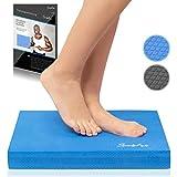 SportyAnis Balance-Pad inkl. Übungsheft - Innovatives Balancekissen zur Stärkung der Tiefenmuskulatur und...