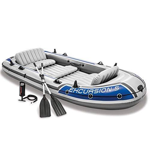 Challenger Kayak - 4-Personen-Faltkajak-Set Mit Schlauchboot, Aluminium-Rudern Und...