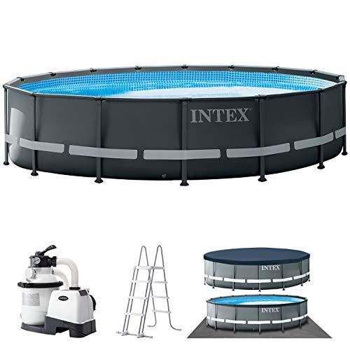 Intex Ultra Rondo XTR Ø 488 x 122 cm Frame Pool Set, Grau