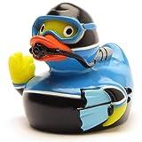Duckshop I Badeente Taucher I Quietscheentchen I L: 8 cm - Ink....