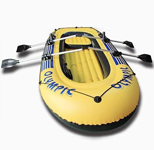 GUOE-YKGM Kayak Faltkajak - Aufblasbares 5-Personen-Kajakset Mit Schlauchboot,...