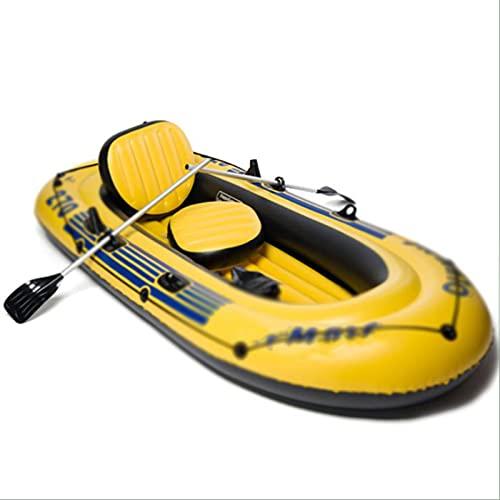 PZJ-Schlauchboote für Erwachsene 5 Personen, aufblasbares Boot für Kinder, Angelboote,...