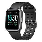 Willful Smartwatch,Fitness Armbanduhr mit Pulsuhr Touchscreen Fitness Uhr IP68 Wasserdicht Fitness Tracker...