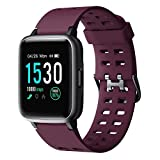 Willful Smartwatch,Fitness Armbanduhr mit Pulsuhr Touchscreen Fitness Uhr IP68 Wasserdicht...