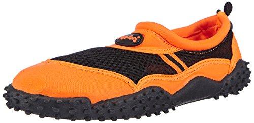Playshoes Damen Surfschuhe Aqua-Schuhe, Orange (orange 39), 40 EU