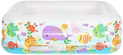 Intex See Aquarium Pool - Kinder Aufstellpool - Planschbecken - 159 x 159 x 50 cm - Für...