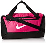 Nike NK BRSLA S DUFF - 9.0 (41L) Gym Bag, Rush pink/Black/(White), MISC