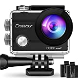 Crosstour Action Sport Cam WiFi 14MP Full HD Unterwasserkamera 2' LCD 170°...