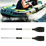 everso 2 Stück Paddel Set,Kayak Paddel Aluminium Abnehmbar,Boat Oars Paddel Länge ca....