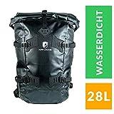 Alpin Loacker   Wasserdichter Rucksack mit Rolltop   Daypack   Wanderrucksack für Sport, Outdoor und Camping