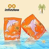 Schwimmflügel, infinitoo Schwimmhilfe, Schwimmreifen Schwimmen Armbands für Kinder und Kleinkinder ab 3...