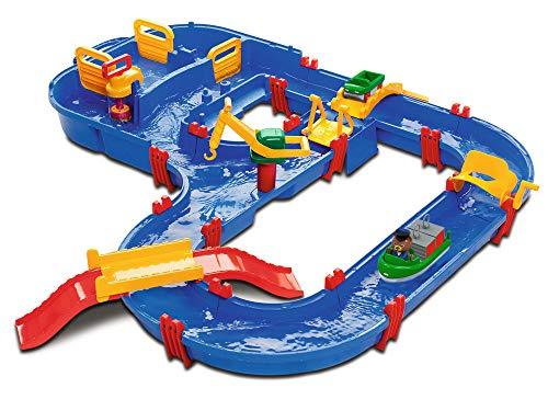 BIG Spielwarenfabrik 1628 AquaPlay - MegaBridge - Wasserbahnset mit 3 Spielstationen und...