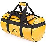 The Friendly Swede Wasserfeste Reisetasche Duffle Bag Rucksack - 30L / 60L / 90L - Seesack, Sporttasche Duffel...