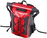 Semptec Urban Survival Technology Fahrradtasche: Wasserdichter Trekking-Rucksack aus LKW-Plane, 20 Liter, IPX6...