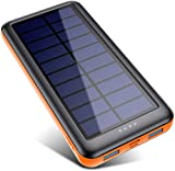 Pxwaxpy Solar Powerbank Outdoor 26800mah【3 Eingänge & 2 Ausgaben(Micro/USB C)】 Solar...