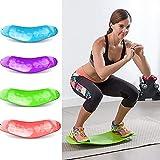 Twisting Fitness Balance Board, Yoga Gym Workout Training Board, Bauchbein...
