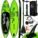 KESSER® Aufblasbare SUP Board Set Stand Up Paddle Board | 366x76x15cm 12.0' | Premium...