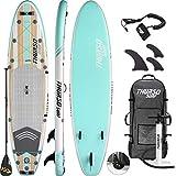 THURSO SURF Waterwalker All Around aufblasbares Stand Up Paddling Board SUP 320x79x15 cm ZWEISCHICHTIG...