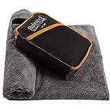 Rainleaf spielraum-tuch, schnell trocknend handtuch, backpacking handtuch, badehandtuch, saugfähiges tuch,...