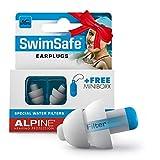 Alpine SwimSafe Gehörschutz Ohrstöpsel zum Schwimmen - wasserdichte Ohrenstöpsel zum...