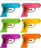 KP Set von 12 cm 6-teiligen Wasserpistolen, Geschenk für Geburtstagsfeiern und Feiern von...
