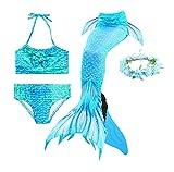 Guter Handwerker Mädchen Meerjungfrauenschwanz zum Schwimmen,Mermaid Tail, für Mädchen,...