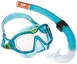Aqua Lung Unisex Kinder Sport Schnorchel-Set mit Tauchmaske und Schnorchelrohr, Blau -...