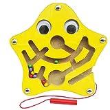 Isuper Mini Magnetspiel, Magnet Labyrinth für Kinder ab 2 Jahren Pädagogisches...