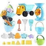 balnore Kinder Junge Mädchen Strandspielzeug, 20 Stück Sandspielzeug Set in...