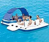 Riesen-Ozean-Schwimmen-Insel-Aufblasbare Schwimmen-Sich Hin- Und Herbewegende Reihen-Sich Hin- Und...