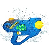 MagoFeliz Elektrische Wasserpistole, 450ML Wasserpistolen Spielzeug für Kinder, Water Gun...