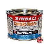 Kontaktkleber BINDALL, 350 g - Bindulin Profipack hell Neoprenkleber wasserfest geruchsarm...