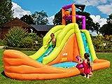 BeBop Piratenboot Aufblasbare Bouncy Wasserrutsche für Kinder