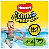 Huggies Little Swimmers Einweg-Schwimmwindeln für Babys und Kinder, Größe 3-4 (7-15...