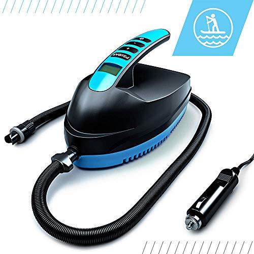 Bluefin SUP Unisex-Adult, Schwarz/Blau, Elektrische SUP Luftpumpe