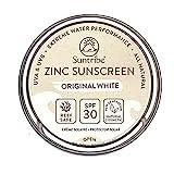 Suntribe Bio-Zinksonnencreme LSF 30 - Sport & Gesicht - Nanofreies Zinkoxid (mineralischer UV-Filter) - Riff...