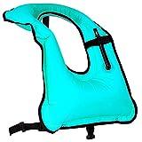 Rrtizan Schnorchelweste für Damen und Herren, aufblasbar, für Tauchen, Schwimmen,...