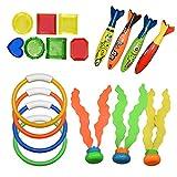 Teaisiy Pool Spielzeug für Kinder 3-12 Jahre, Tauchringe für Kinder 4-9 Jahre Mädchen...
