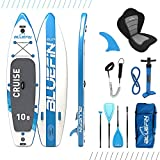 Bluefin Cruise SUP Board Set | Aufblasbares Stand Up Paddle Board | 6 Zoll Dick | Fiberglas Paddel | Kajak...