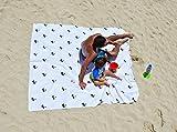 Mikrofaser Strand Handtuch und Übergroße Decke -Quick Dry - (188 x 188 cm)