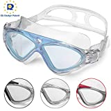 Schwimmbrille Erwachsene Anti Fog Ohne Leakage deutlich Anblick UV Schutz 180°Weitsicht Einfach zu...