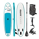 Glory Boards // Fun 10'0'' Stand up Paddling Board Set in Premium Qualität – leichtes Anfänger iSUP...