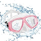 KOROSTRO Taucherbrille Erwachsene, Anti-Fog Schnorchelbrille Schwimmbrille Tauchmaske,...