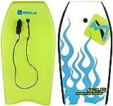 MESLE Bodyboard Speed Skin 42.5, HDPE Slick-Base, bis 100 kg Körpergewicht