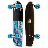 FLOW Surf Skates Stub Surf-Skateboard mit Carving-Truck, 73,7 cm, mehrfarbig