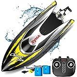 SYMA RC Boot Schnell Boot 2.4GHz Fernbedienung Spielzeug High-Speed Racing Boot mit Starke...