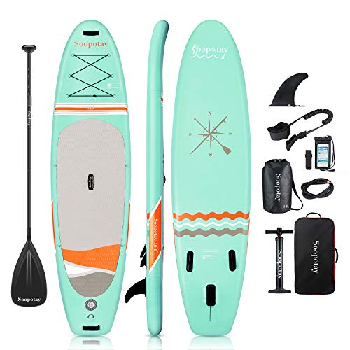 Aufblasbares SUP Board, Stand-up Paddle Board, Sup Paddleboard, iSUP Paket mit allem...