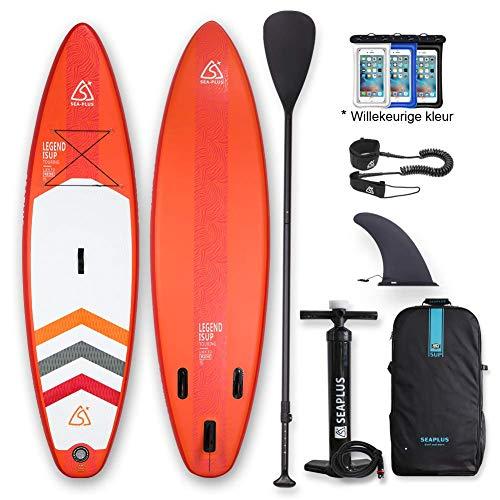 SUP Aufblasbares Stand Up Paddle Board Set 320 * 78 * 15cm ISUP Mit Hochdruck-Pumpe...
