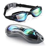 aegend Schwimmbrille, Gespiegelt Schwimmbrille Keine undichte Anti-Fog-UV-Schutz Triathlon Schwimmbrille mit...